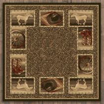 Western Home Rug - 8 Ft. Square