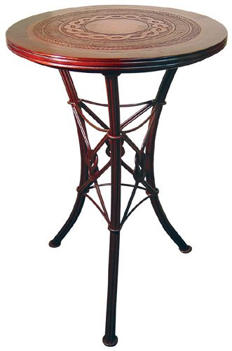 Western Iron Bistro Bar Table