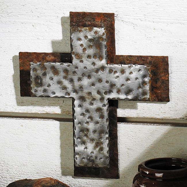 Western Iron Wall Cross - Small