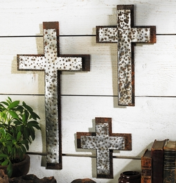 Western Iron Wall Crosses