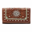 Western Leather Wallet Collection