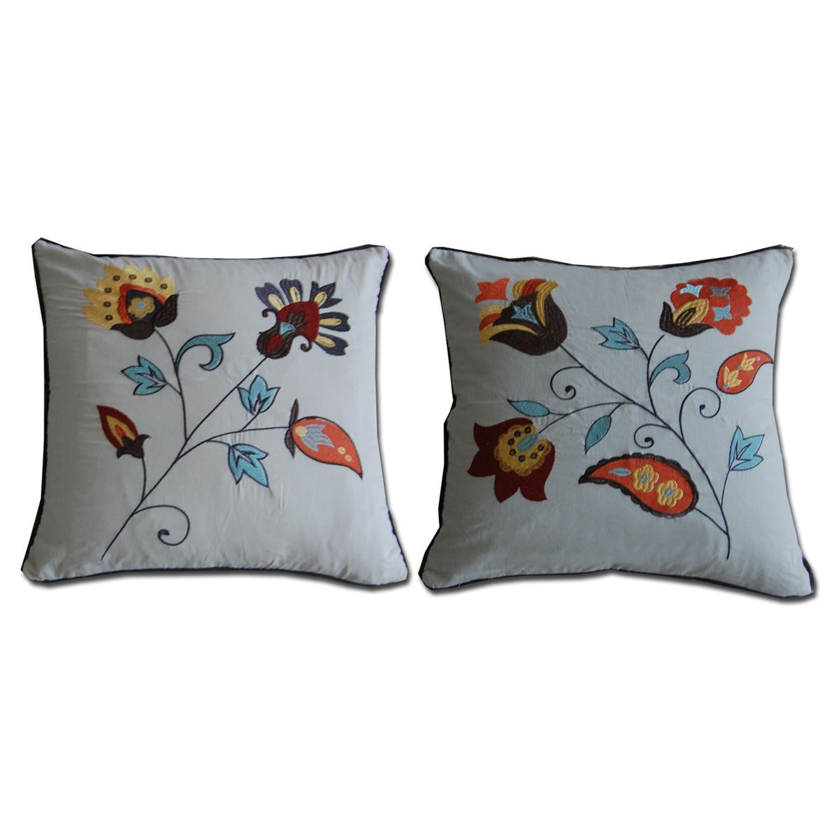 Western Medallions Pillows - Set of 2