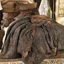 Western Paisley Beaumont Bed Set - Queen