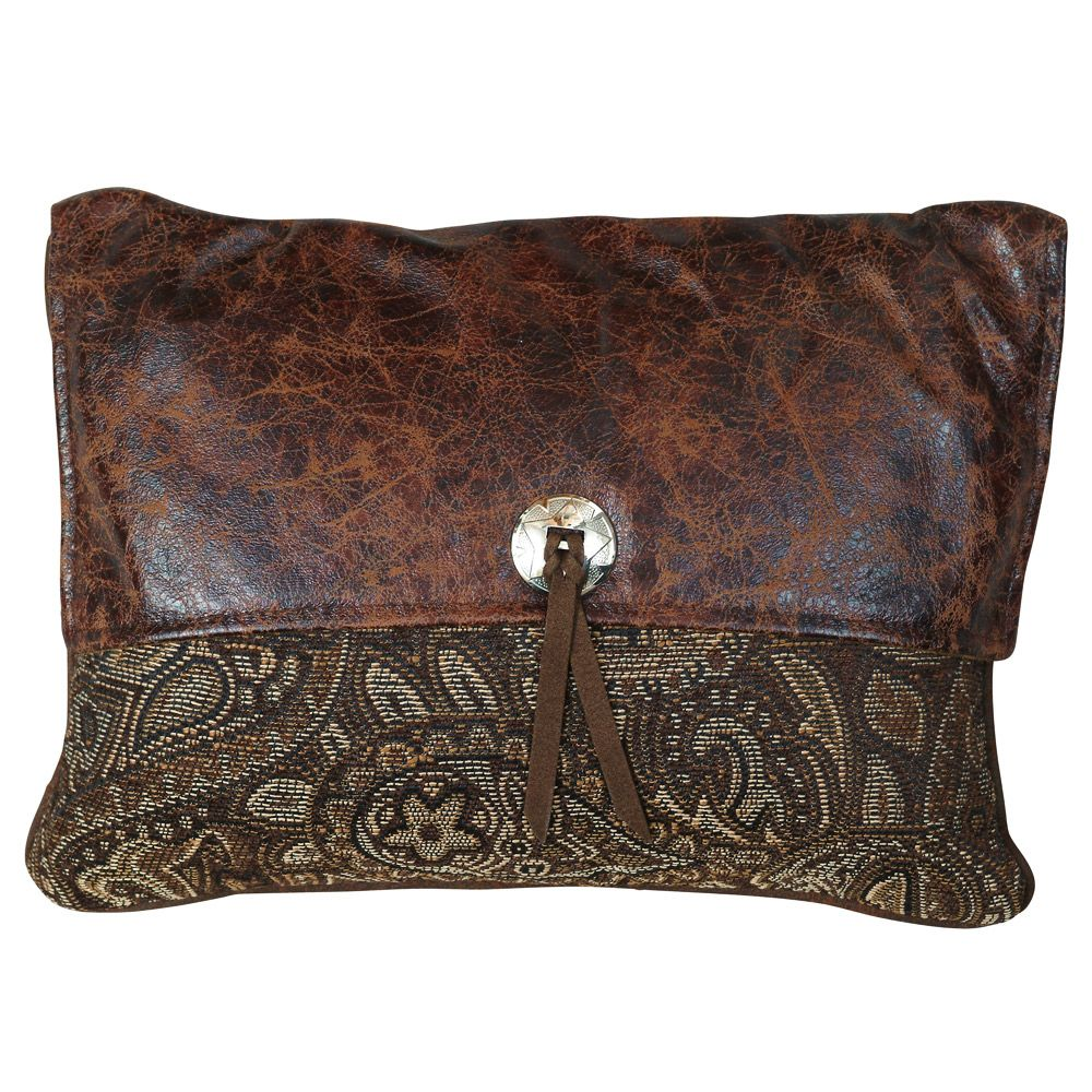 Western Paisley Beaumont Pocketbook Pillow