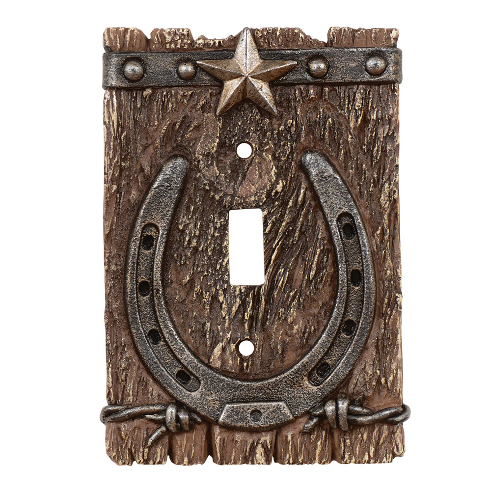 Western Ranch Single Switch Plate