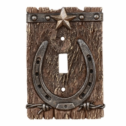 Western Ranch Switch Plate Covers