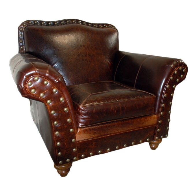 Western Royalty Club Chair