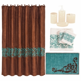 Western Scroll 21 Piece Bath Set