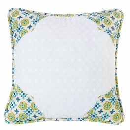 Western Spring Scalloped Accent Pillow - OVERSTOCK