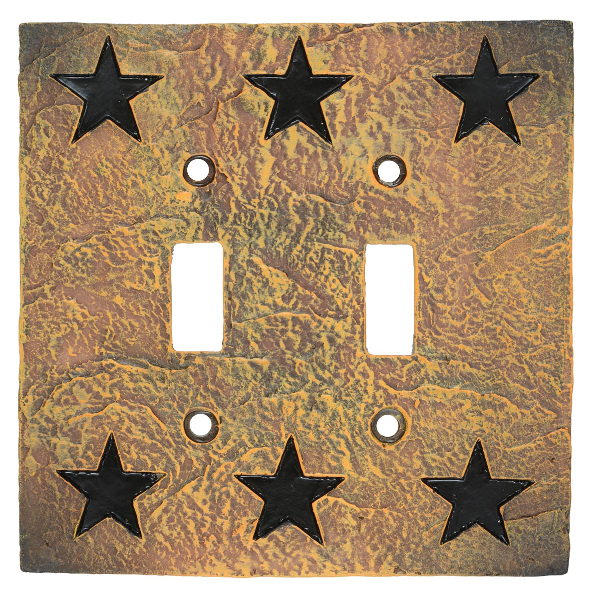 Western Star Stone Double Switch Cover - CLEARANCE