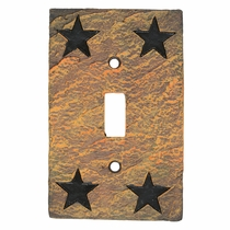Western Star Stone Single Switch Cover