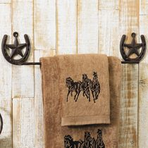 Western Star Towel Bar
