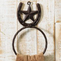 Western Star Towel Ring