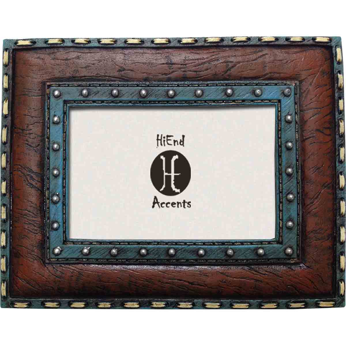 Western Stitched Picture Frame