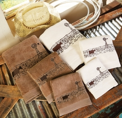 Western Visions Towel Sets