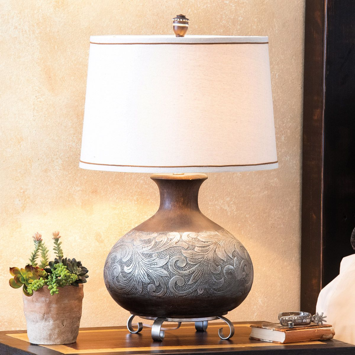 Weston Scrollwork Table Lamp