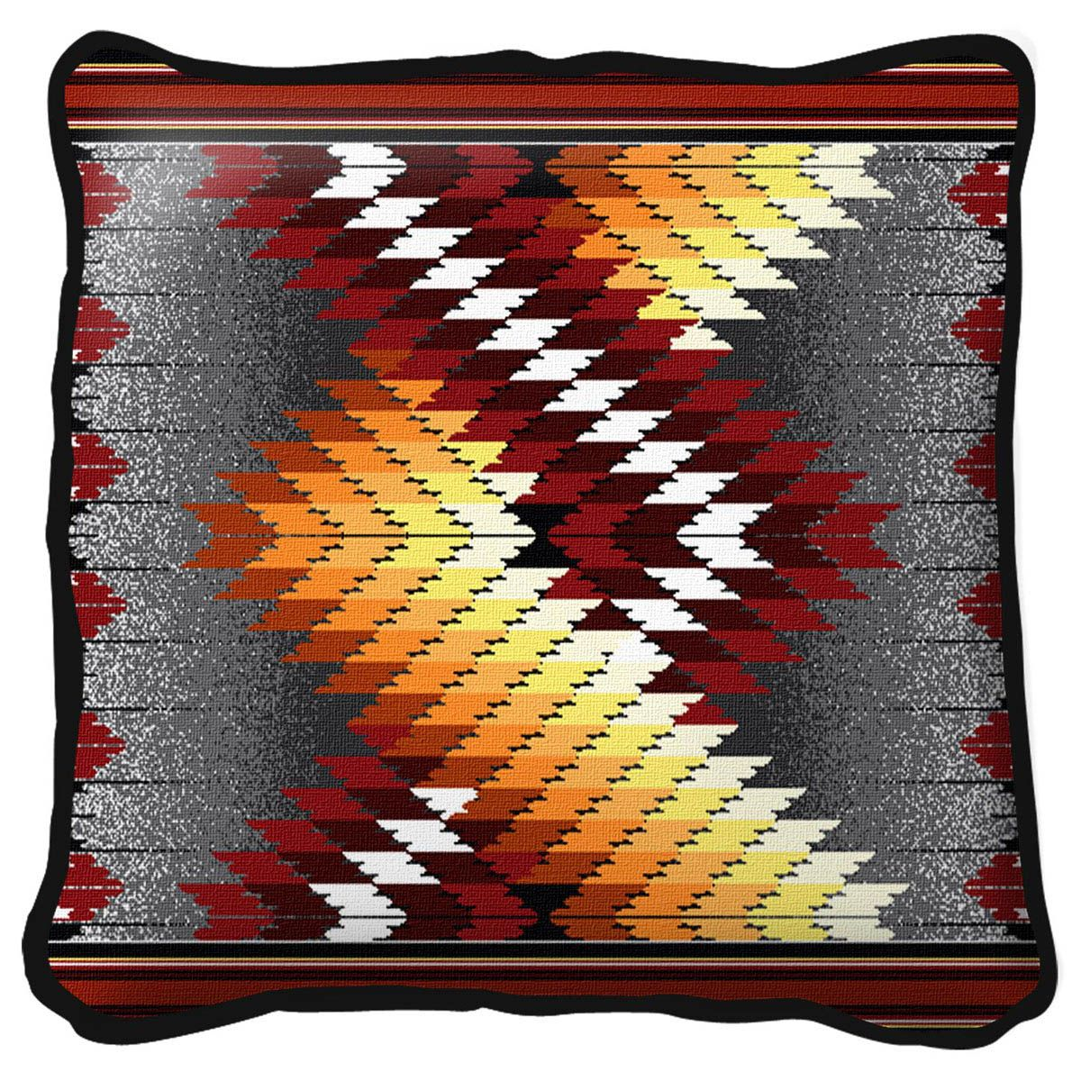 Whirlwind Fire Pillow