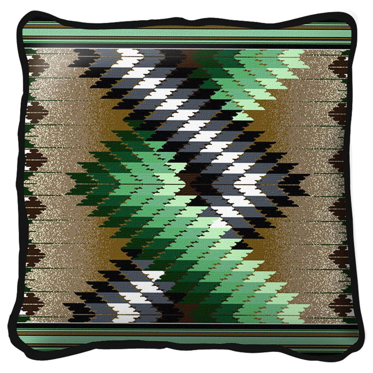 Whirlwind Sage Pillow
