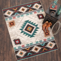 Whiskey River Electric Rug - 4 x 5