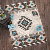Whiskey River Glacier Rug Collection