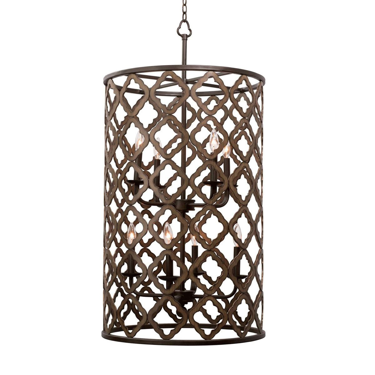Whittaker 8 Light Large Foyer Pendant