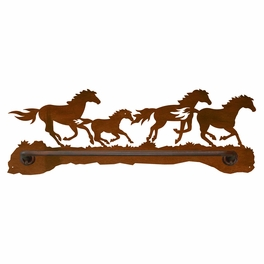 Wild Horses Hand Towel Bar