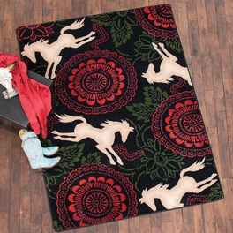 Wild Horses Rug Collection