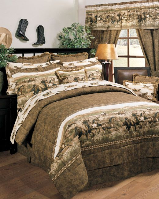 Wild Horses Valance - OUT OF STOCK