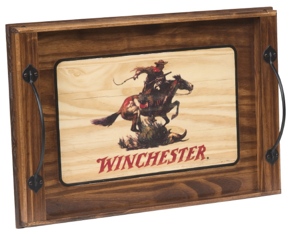 Winchester Horse & Rider Serving Tray