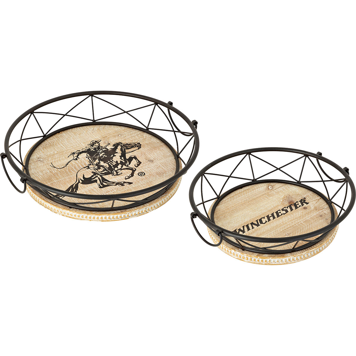 Winchester Trays - Set of 2