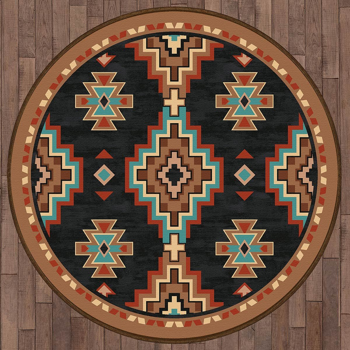 Wind River Rug - 8 Ft. Round