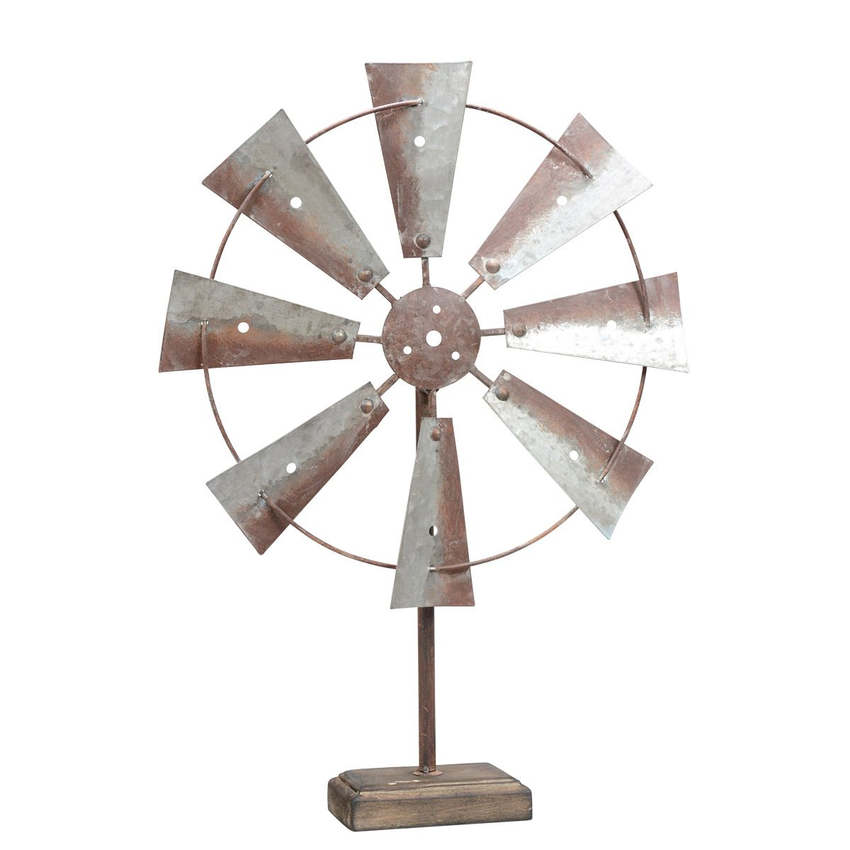 Windmill Tabletop Sculpture - CLEARANCE