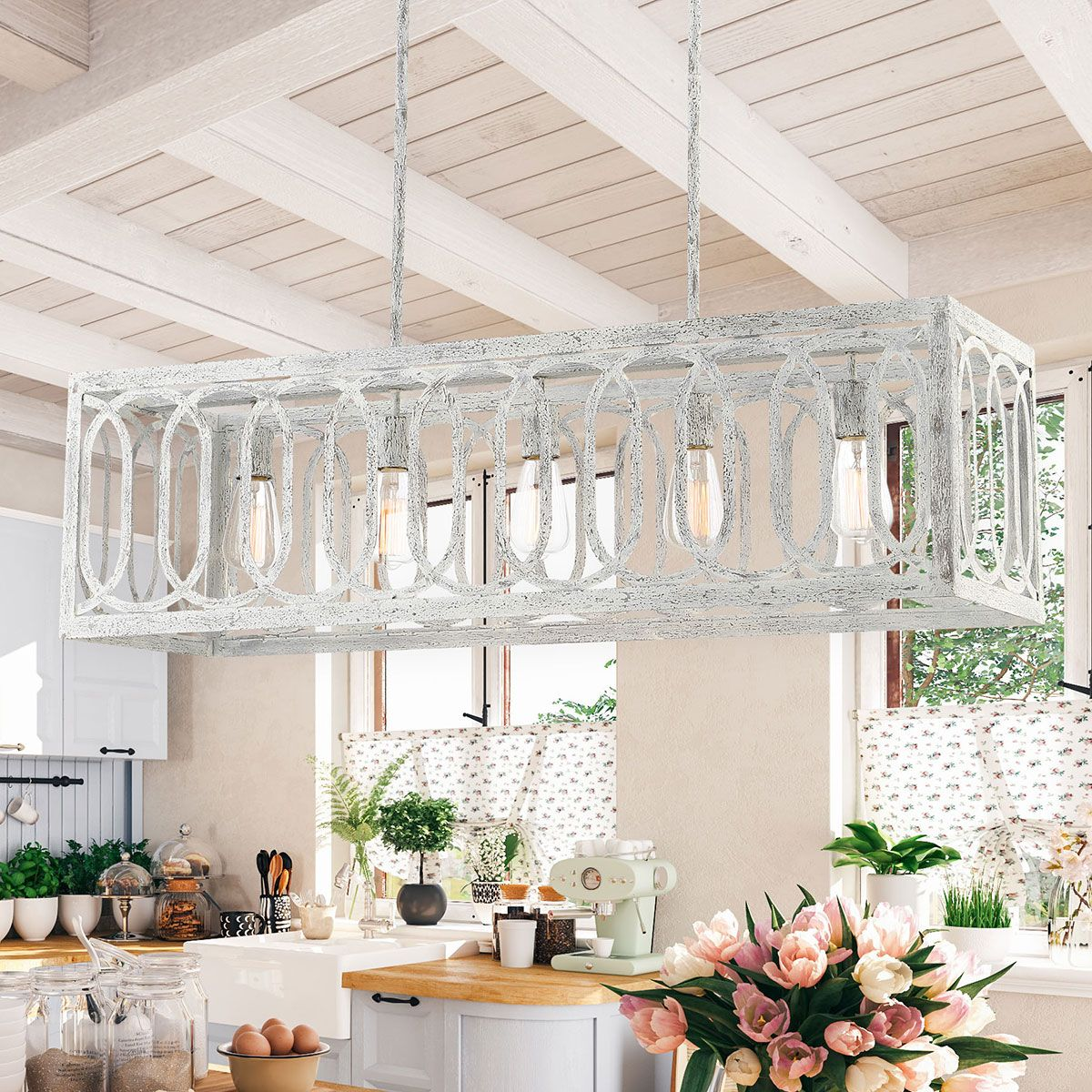 Winnie 5 Light Linear Chandelier