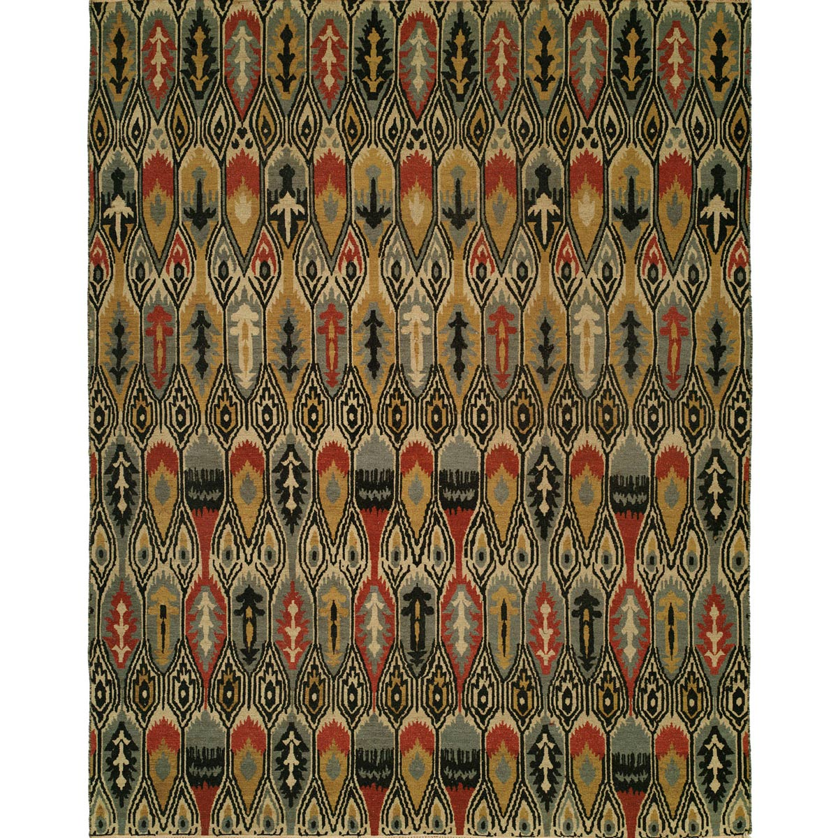 Winslow Arrows Rug - 4 x 6