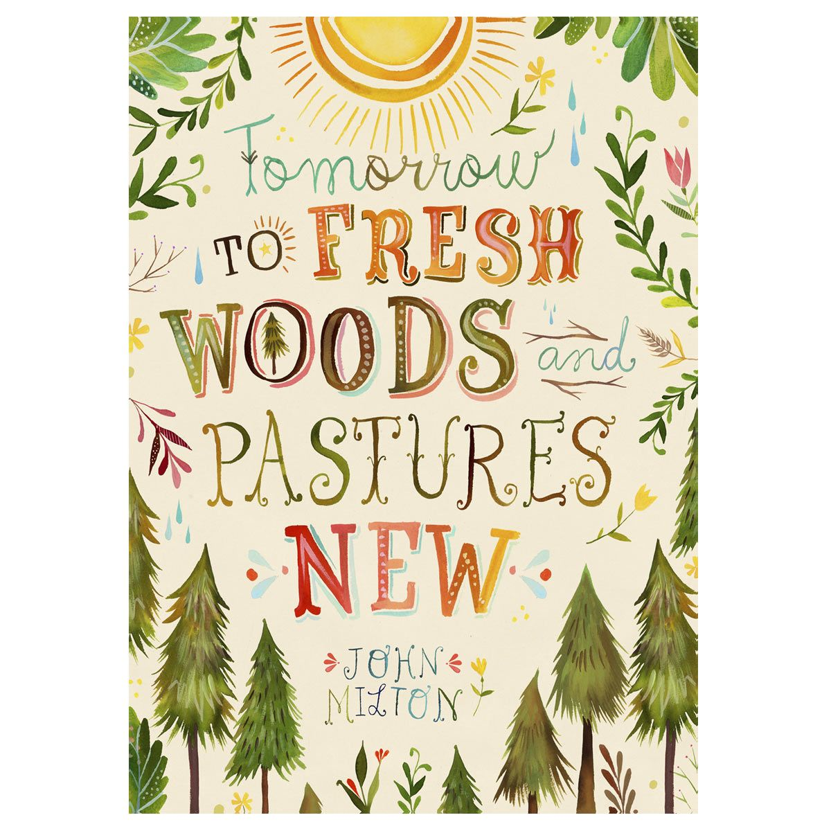 Woods & Pastures Canvas Art