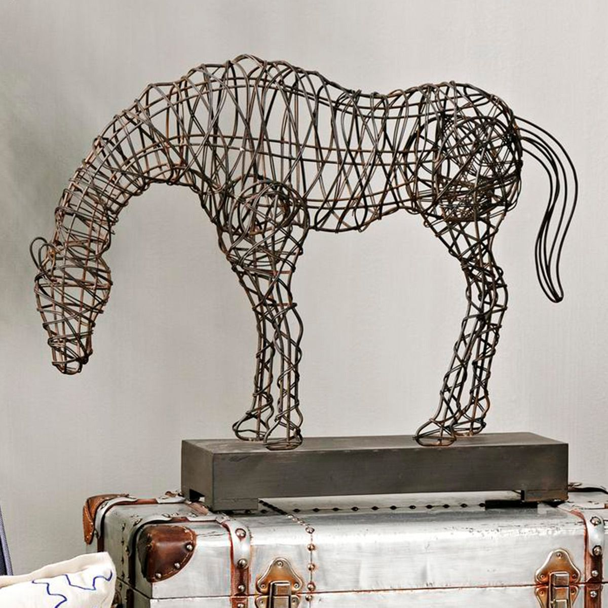 Woven Horse Statuary - OUT OF STOCK UNTIL 7/1/2021