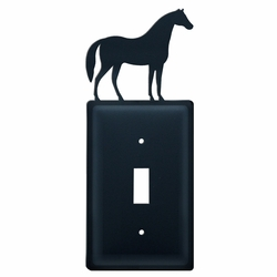 Wrought Iron Horse Switch Covers