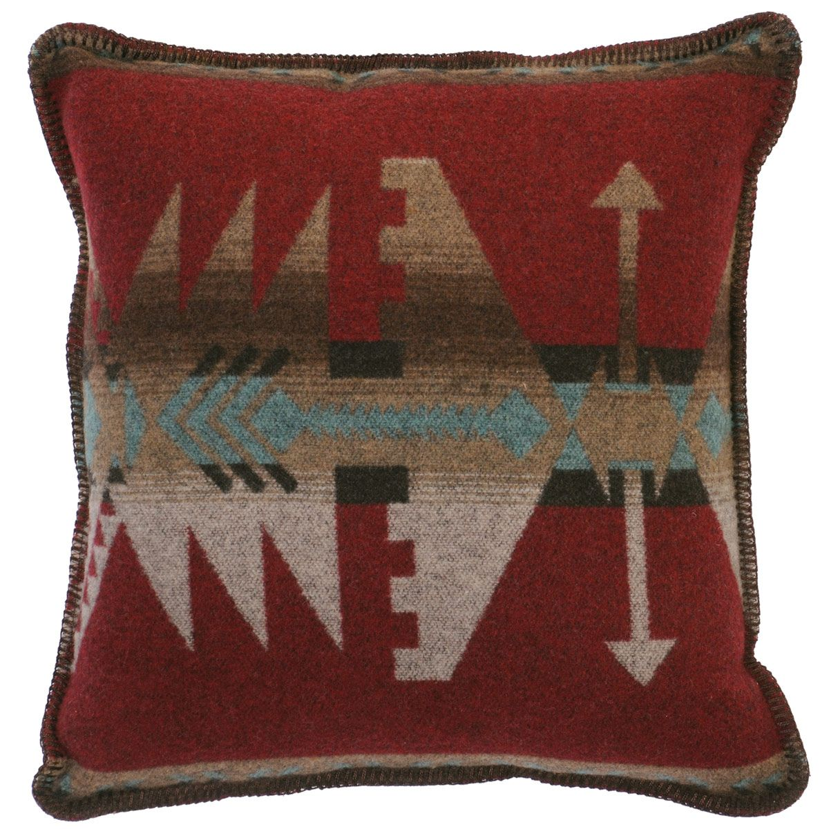 Yellowstone II Geometric Pillow