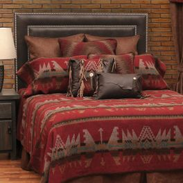 Yellowstone III Deluxe Bed Set - King - OVERSTOCK