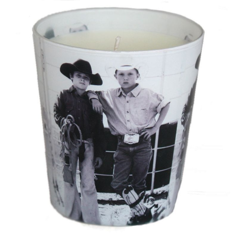 Young Cowboys Candle