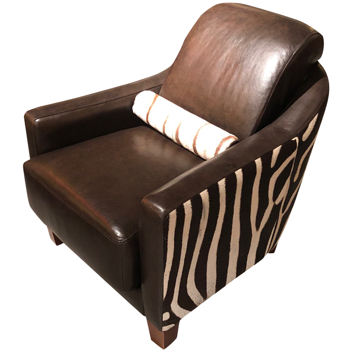 Zebra Contemporary Club Chair