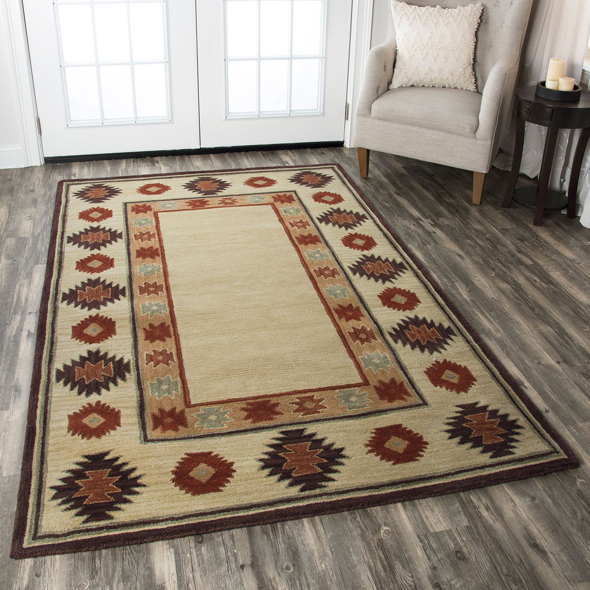 Zion Canyon Rug - 8ft. Round