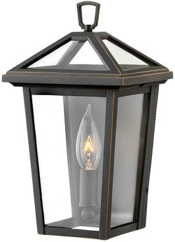 """Hinkley Alford Place 11.25"""" Exterior Sconce Lighting - Oil Rubbed Bronze 2566OZ"""