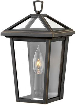 """Hinkley Alford Place 11.25"""" LED Exterior Light Sconce - Oil Rubbed Bronze 2566OZ-LL"""