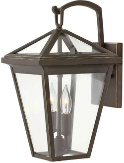 """Hinkley Alford Place 14"""" Exterior Wall Light Fixture - Oil Rubbed Bronze 2560OZ"""