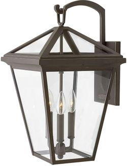 "Hinkley Alford Place 20.5"" Exterior Wall Sconce Light - Oil Rubbed Bronze 2565OZ"
