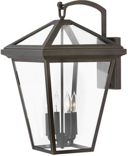 """Hinkley Alford Place 24"""" LED Exterior Wall Light Fixture - Oil Rubbed Bronze 2568OZ-LL"""