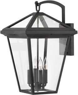 """Hinkley Alford Place 24"""" Outdoor Lighting Sconce - Museum Black 2568MB"""