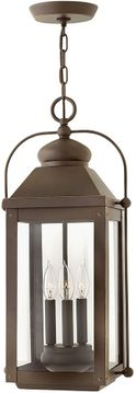 "Hinkley Anchorage 23.75"" LED Outdoor Hanging Light - Light Oiled Bronze 1852LZ-LL"