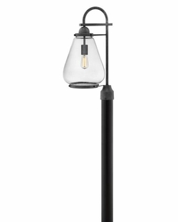 Hinkley Finley Outdoor Post Lighting - Zinc 2511DZ